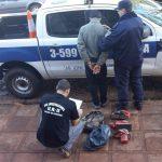 Ofrecía elementos presuntamente  robados y fue detenido por la policía en Oberá