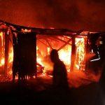 Un sexagenario sufrió quemaduras en un incendio en Oberá