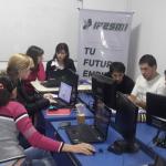 Ipesmi se reunió con las empresas Diez Positivo y Neo Mandados de Oberá para validar actividades desarrolladas