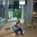 Por el frío, fueron rescatas dos personas y llevadas al Refugio de noche
