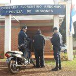 La Policia detuvo a un hombre y recuperó una motocicleta robada