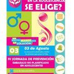 Oberá: Jornada de Prevención de Embarazo no Planificado en Adolescentes