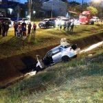 Tremendo accidente en Avenida de las Américas