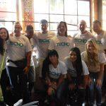 Un grupo de voluntarios viaja miles de kilómetros para construir con TECHO en Oberá