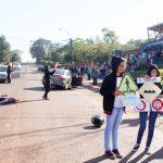 Potente simulacro de siniestro vial en escuela de Guaraní