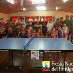 Tenis de Mesa del Inmigrante