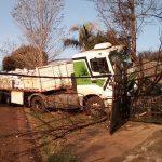 Otro Camión se incrustó en una casa
