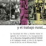 Muestra de Bialet Massé desde el jueves
