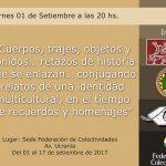 """Inauguración de la Muestra Temporal: """"Retazos de Historia"""""""
