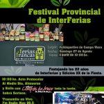 El domingo 27 de agosto se realizará la XX Edición del Festival de Ferias Francas en Campo Viera