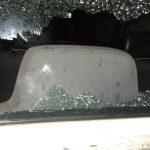 Tres adolescentes dañaron un móvil policial en el barrio San Miguel