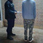 La policía detuvo al presunto autor de un  robo en Los Helechos