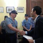 Policías fueron reconocidos por su actuación en la resolución de hechos