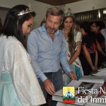 Visita del Ministro Frigerio a la Fiesta Nacional del Inmigrante