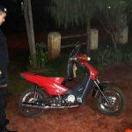 Prevención: la policía secuestró una motocicleta adulterada y otra por infracción a la Ley Nacional de Tránsito