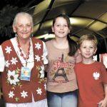 Doña Ángela, pilar fundamental en la Fiesta del Inmigrante