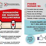 Nueva jornada de donación de sangre en Oberá