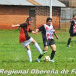 Fútbol Femenino LROF El Exa debutó con una victoria y el mal tiempo cortó la fecha