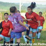 Fútbol Femenino- Se recuperaron los partidos pendientes