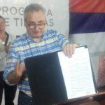 """Se realizó la entrega oficial de la obra """"Toma de Agua, acueducto y estaciones de bombeo, Arroyo Bonito"""""""