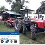 Gendarmería secuestró tractor con rastra ingresado de contrabando