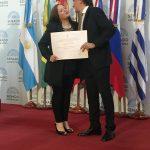 El Congreso de la Nación distinguió a la Presidente de la Asociación Misionera de Profesionales de la Danza