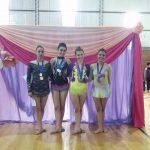 La escuela municipal de gimnasia rítmica obtuvo excelentes resultados
