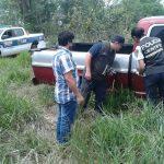 """Recuperaron en Santo Pipó la camioneta de """"Lory"""" robada en Oberá"""