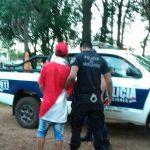 """Cayó """"Boni"""" acusado de ocasionar disturbios y arrojar  piedras en la casa de una vecina"""
