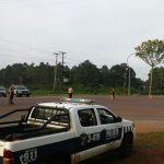 En un intenso despliegue la Policía busca a los autores de dos robos en Oberá