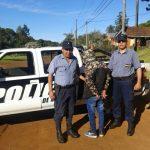 Un joven  circulaba con una motocicleta robada y fue detenido por la  Policía