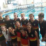 Con gran participación el Club Aleman finalizó el Circuito Regional de Natación