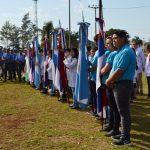 Se realizó el Acto por el día de la Bandera de Misiones