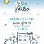 La 6ª edición del programa Con Vos en tu Barrio será Oberá VII  (Villa Barreiro)