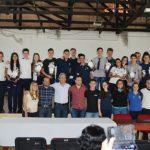 Los ganadores de la estudiantina recibieron sus premios