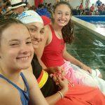 Podios para la natación del Club Alemán en el Torneo Aniversario del Club CAPRI