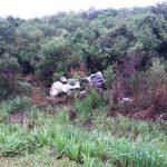 Despiste y vuelco en la ruta 103 dejó como saldo dos personas lesionadas
