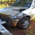Una colisión dejó como saldo dos jóvenes hospitalizados