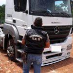 La Policía recuperó un camión robado en la provincia de Buenos Aires