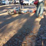 Motociclista sufrió  lesiones de consideración en un siniestro vial