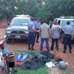 En una rápida investigación la Policía detuvo a dos hermanos por el incendio en una despensa en Guaraní