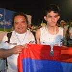Medallas para atletas obereños en el comienzo de los Juegos Evita de deportes adaptados