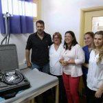Entregaron importante equipo de gastronterología al Samic Oberá