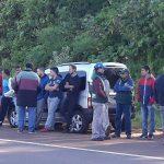 Camioneros vuelve a protestar por encuadre gremial en empresa obereña