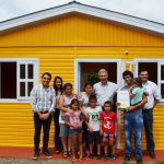 Milagros y su familia recibieron una vivienda