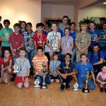 Con gran éxito se realizó el cierre del ajedrez obereño 2017