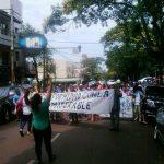 El repudio al ajuste y las reformas copó las calles en Posadas, Eldorado y Oberá
