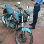 Un joven resultó lesionado al despistar con una motocicleta en Oberá