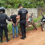 La Policía recuperó una motocicleta y detuvo a un joven en Oberá
