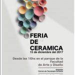El viernes Feria de Cerámica en la FAyD
